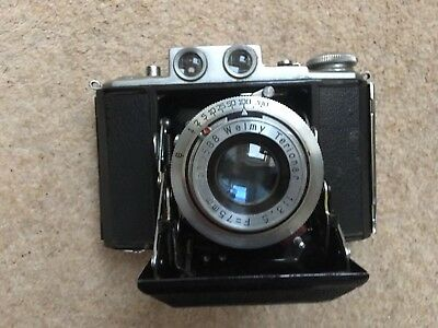 Welmy Folding Camera 6x6 About 1951