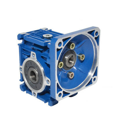 NMRV-030 Worm Gear Speed Reducer 63B14 Gearbox 1:7.5 - 1:80 Ratio Gear Box