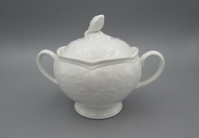 Lenox China BUTTERFLY MEADOW Cloud Covered Sugar Bowl