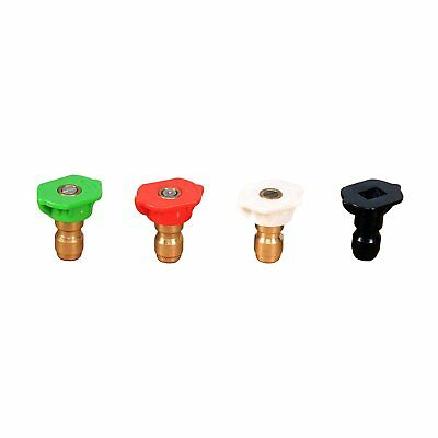 Greenworks Universal Pressure Washer Nozzle Tips (4 Pack) 5201502
