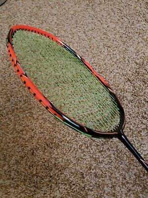 Flex Power Nano Tec Z Speed Badminton Racket Racquet (4U)