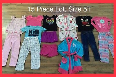 Toddler Girl Clothes, Size 5T, 15 Piece Lot, Disney, Children's Place, Baby Gap