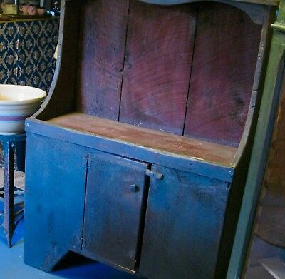 Early Large Dry Sink in the Original Paint.