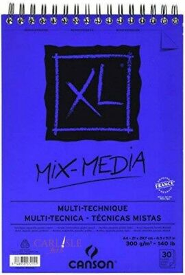 Canson XL Mix- Media Pad 300gsm Choose Your Size By One