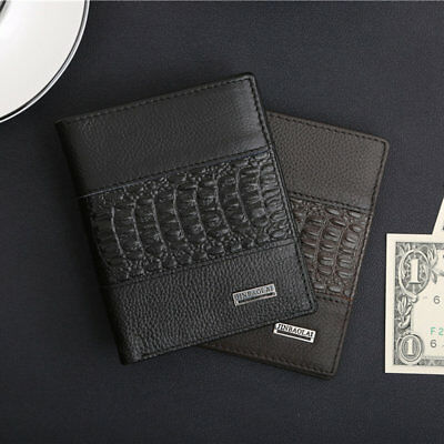 JINBAOLAI Man Purse Men For Male Holding Cash Cards Opening Style Soft Wallet II