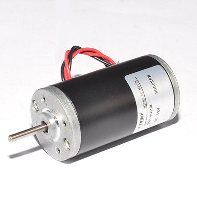 1//8HP Motor 2000RPM  12V PMDC Rotation CW HTD 5mm Pitch Pulley and Belt
