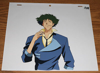 COWBOY BEBOP Spike Anime Production Cel A-44 with douga pencil drawing