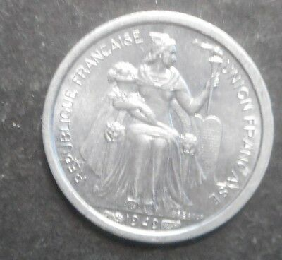 New caledonia  1949 50 Centimes   Coin  aUNC