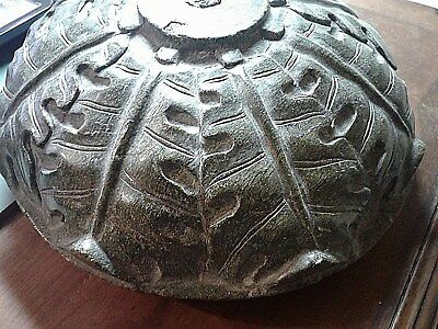 Antiques Green Mayan Marble Mortar Bowl Large 12 pounds
