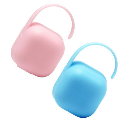 Baby Dummy Soother Container Holder Pacifier Portable Travel Case Storage