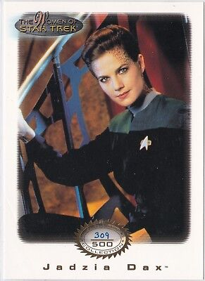 Star Trek Women Of Star Trek In Motion Archive Collection Gold 1 Jadzia Dax /500