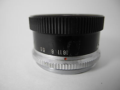 Prinz 75/3.5 Enlarging Lens Nice Glass Aperature Smooth