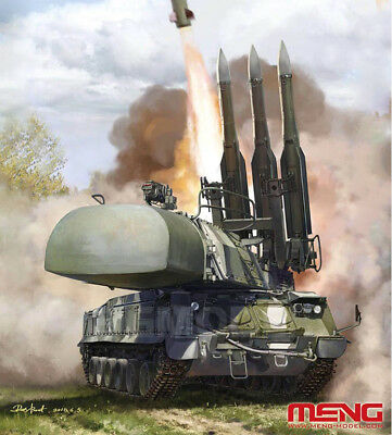 Meng Model SS-014 1/35 Russian 9K37M1 BUK Air Defense Missile System