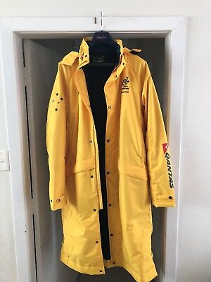 Asics Qantas Wallabies Matchday Sideline Jacket Rugby Player Issue
