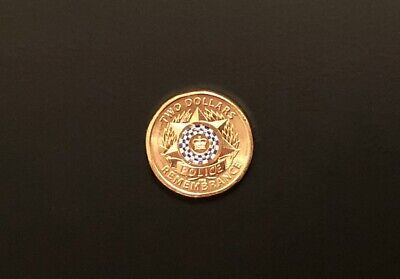 1 x BRAND NEW UNCIRCULATED $2 coin 2019 ** POLICE ** REMEMBRANCE **