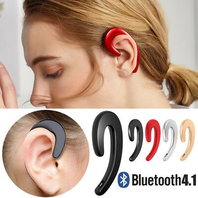 Wireless Bluetooth Ear Bone Conduction 4.1 Headphones Stereo Earphone Headset