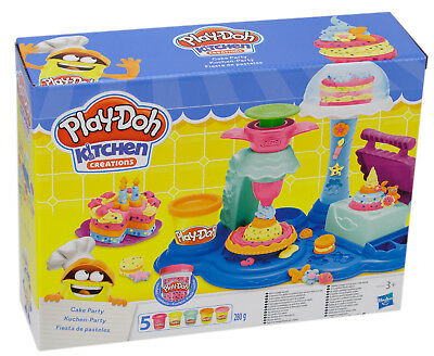 Play-Doh Kitchen creations Kuchen Party Knete Knetwerkzeug Knetpresse 102456