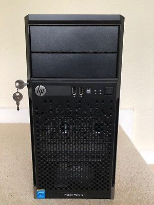 HP ProLiant ML10v2 Server - G3240 - 8GB ECC RAM included