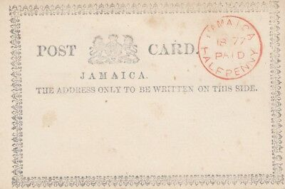 Jamaica: 1877 post card