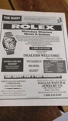 The Mart of the National Association of Watch & Clock Collectors Issue 290 1999
