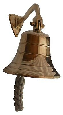Style Brass wall Bell ~ Nautical Ships Decor Gift