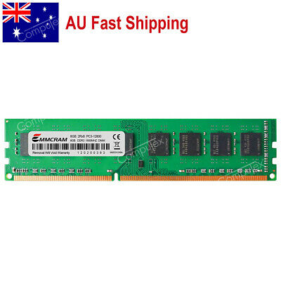 AU 8GB DDR3-1600 PC3-12800 DIMM MEMORY For Dell Optiplex 790 780 580 990 980 380