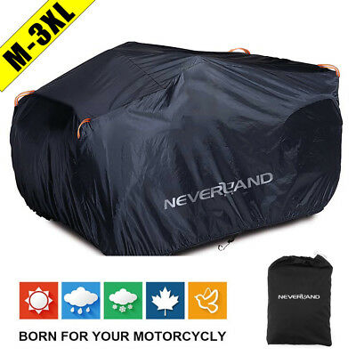 Waterproof Dustproof Anti-UV Quad Bike ATV Cover For Polaris Honda Yamaha Can-Am