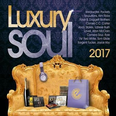 LUXURY SOUL 2017 Various Artists NEW & SEALED MODERN NU SOUL 3X CD (EXPANSION)