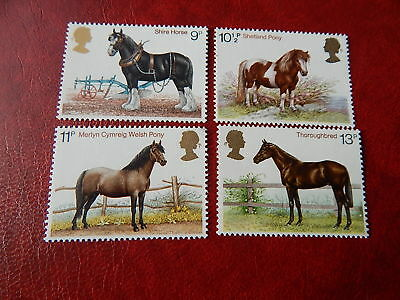 gb stamps s g 1063-1066.   Horses.