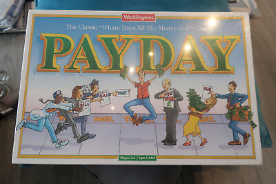 Waddingtons Payday board game BNIB SEALED NEW  family board game