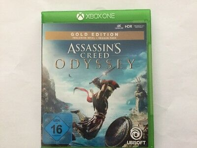 ASSASSINS CREED Odyssey GOLD EDITION. Xbox One