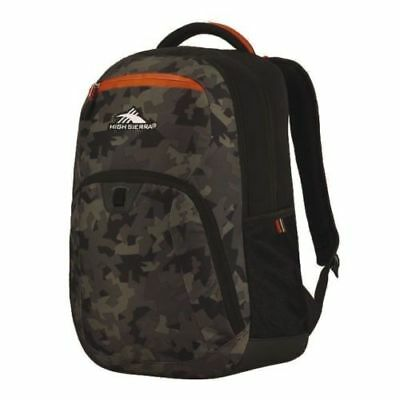 "NEW High Sierra RipRap Everyday 15"" Laptop Lifestyle Backpack Camo Patterned!"