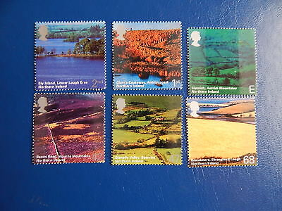 gb stamps s g 2439-2444. A British Journey.Northern Ireland. ( 2nd series.).
