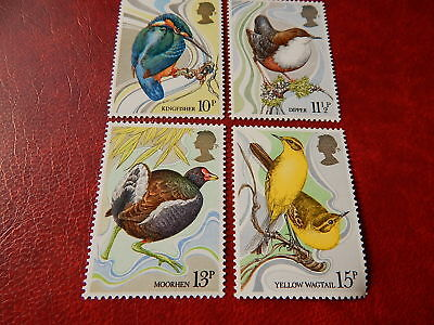 gb stamps s g 1109-1112. Centenary of Wild Bird Protection Act.