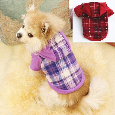 Pet Dog Fleece Harness Vest Puppy Warm Sweater Coat Shirt Jacket Apparel S-XL P