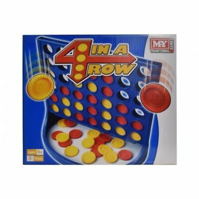4 in a Row Board Game Connect 4 2 PLAYER Traditional Kids Game MY Childrens