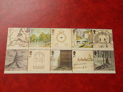 gb stamps   sg 2429-2438.50th.Anniversary of Publication of the Fellowship .