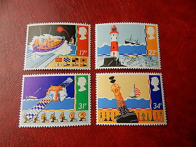 gb stamps s g 1286-1289.  Safety at Sea.
