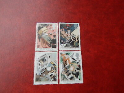 gb stamps s g 1359-1362. Centenary of St John Ambulance Brigade.
