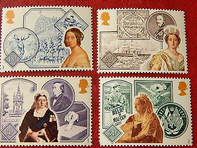 gb stamps s g 1367-1370.150th.Anniversary of Queen Victoria's Accession.