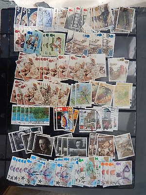 gb stamps  Over 200 used gb stamps.2 scans.