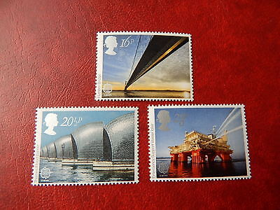 gb stamps s g 1215-1217. Europa. Engineering Achievements.