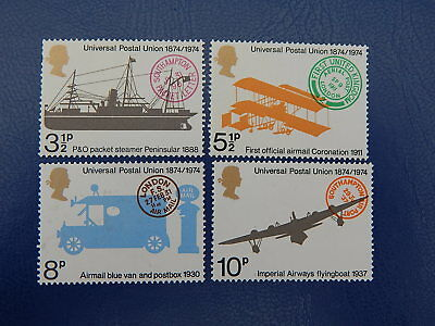 gb stamps s g 954-957. Centenary of Universal Postal Union.