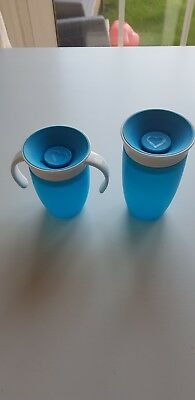 Baby 'Munchkin' 360 Degrees  Miracle Training Cups. Set Of 2