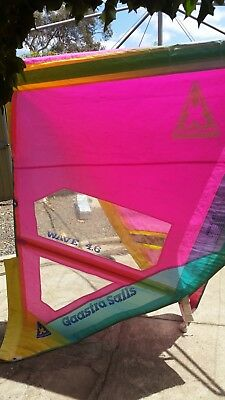 Retro Windsurf sail Gaastra Wave 4.6