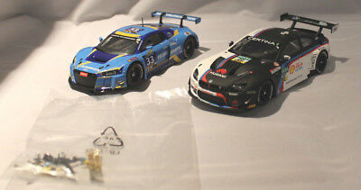 Carrera D132 30785 Audi R8 LMS Car Coll./30810 BMW M6 GT3 Schubert Motorsport