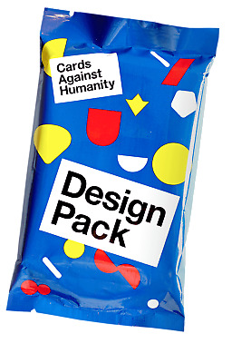 Cards Against Humanity Design Pack NEW 30 card booster expansion set CAH