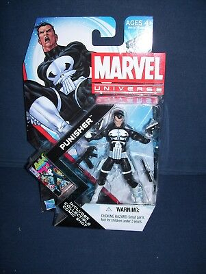 Marvel Universe Punisher 3 3/4 Action Figure #13 Series 4 NIB Hasbro