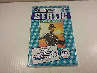 Static #1, Polybagged, First Appearance Static