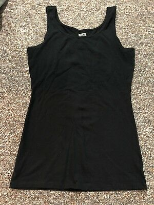 7fb44a17fdfce DULUTH TRADING CO. Womens No-Yank Tank S NWOT (Black) -  13.50 ...